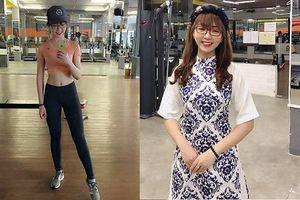 Nếu thấy mình bỗng tăng cân chóng mặt, hãy tập như cô gái này để body chuẩn như siêu mẫu