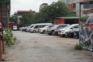 Cần xử lý nghiêm bãi xe không phép ở phường Vĩnh Phúc, quận Ba Đình