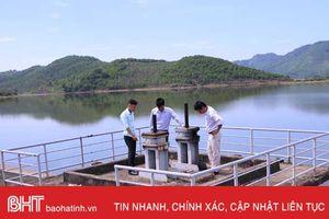 Nắng to, Can Lộc lại lo nước tưới