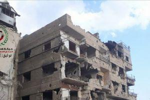 Chùm ảnh: Quân đội Syria đánh bật IS khỏi loạt khu vực ở Nam Damascus