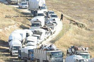 Hàng ngàn tay súng thánh chiến Syria lũ lượt di tản về phía bắc