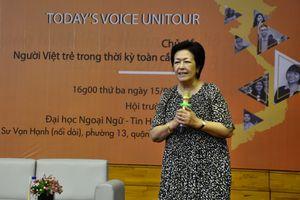 Bà Tôn Nữ Thị Ninh: 'Tôi từng chấp nhận giữ trẻ thuê miễn là có công việc'