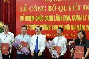 Sau 2 ngày thi tuyển, Bộ Nội vụ có 4 vụ phó mới