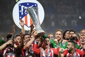 Đại thắng Marseille, Atletico vô địch Europa League