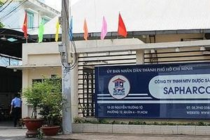 Thanh tra Bộ Y tế phạt Công ty SAPHARCO 30 triệu đồng vì bán giá thuốc cao hơn kê khai