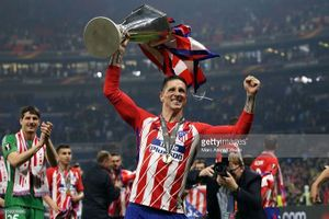 Vô địch Europa League, Torres nói lời chia tay Atletico