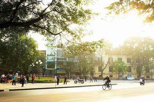 Nhiệt độ ngoài trời Hà Nội có thể lên đến 40 độ C trong đợt nắng nóng giữa tháng 5/2018