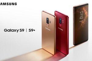 Galaxy S9 và S9 Plus phiên bản đỏ và vàng lên kệ vào tháng 6