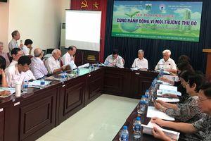 Hiến kế 'Cùng hành động vì môi trường Thủ đô'