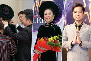 Quang Lê tỉ mỉ tận tay chỉnh sửa trang phục cho Như Quỳnh, Ngọc Sơn bảnh bao với vest lịch lãm