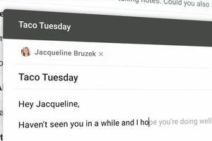Cách dùng thử tính năng Soạn thư thông minh hỗ trợ AI của Gmail