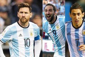 Danh sách sơ bộ của Argentina ở World Cup 2018: Vận đen đeo bám Messi