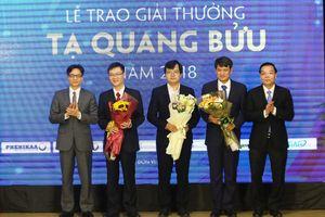 Vinh danh 3 nhà khoa học đoạt giải thưởng Tạ Quang Bửu 2018
