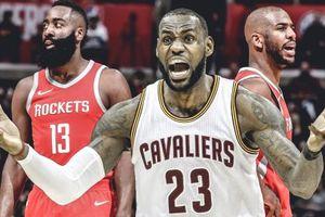 Không có chuyện Houston Rockets theo đuổi LeBron James