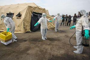 Dịch bùng phát Ebola lan rộng ở Congo