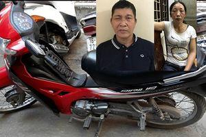 Bắt giữ cặp bạn nghiện, chuyên trộm cắp xe máy