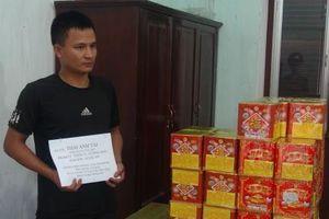 Hải quan Tân Thanh phối hợp bắt giữ 50 kg pháo nổ