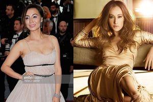 Choáng với gương mặt biến dạng của mỹ nhân gốc Việt Maggie Q ở Cannes