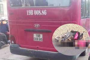Phú Thọ: Ngã ra đường, người phụ nữ bị xe khách cán tử vong