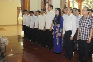 Vĩnh Phúc: Dâng hương kỷ niệm 128 năm ngày sinh Chủ tịch Hồ Chí Minh