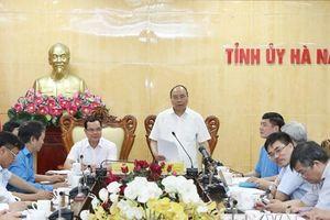 Thủ tướng đề nghị Hà Nam không phát triển thêm các nhà máy ximăng