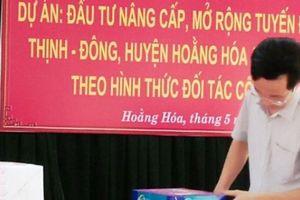 Lễ đấu thầu dự án 224 tỷ đồng của huyện Hoằng Hóa được đánh giá tốt