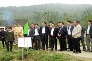 Phấn đấu về đích sớm huyện nông thôn mới đầu tiên của Hà Tĩnh