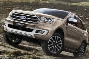 Ford Everest 2019 đẹp 'long lanh' lộ diện với động cơ siêu 'khủng' 2.0 biturbo, tự động 10 cấp
