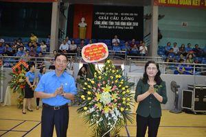 LĐLĐ tỉnh Thái Bình tổ chức giải cầu lông CNVCLĐ năm 2018