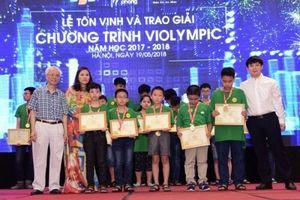 Học sinh Hà Nội dẫn đầu trong cuộc thi Violympic 2017-2018