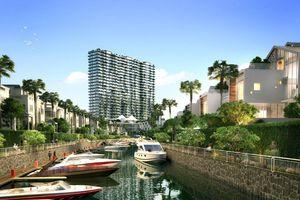 Phối cảnh dự án bất động sản tích hợp bến du thuyền ở TP.HCM