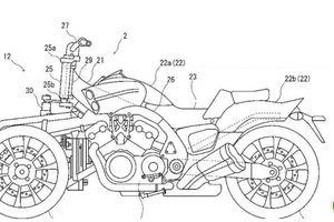 Yamaha sẽ phát triển 'ma tốc độ' VMAX 3 bánh?