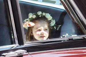 Hình ảnh tiểu Công chúa Charlotte đáng yêu trong đám cưới Hoàng gia