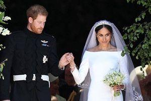 Đọ váy cưới của Meghan Markle với những bộ váy hoàng gia