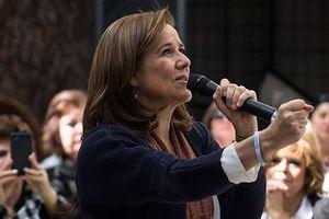 Vì sao cựu Đệ nhất phu nhân Mexico rút khỏi cuộc tranh cử Tổng thống?