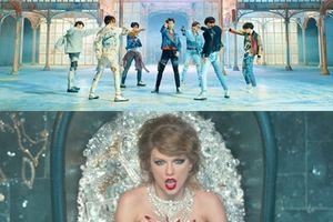 Taylor Swift lặng lẽ nghe 'Fake Love' (BTS) để biết thêm về người đã phá kỉ lục của mình?