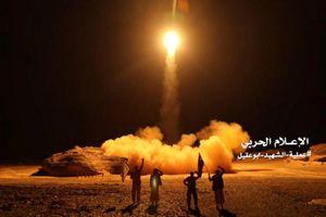 Phiến quân Houthi bắn tên lửa vào Arab Saudi