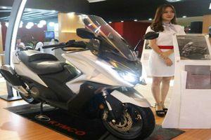 Xe máy Đài Loan Kymco AK550 đắt hơn Kia Morning bán cho ai?