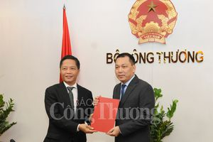Công bố quyết định bổ nhiệm Thứ trưởng Bộ Công Thương