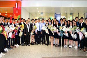 Học sinh Việt Nam ghi dấu ấn tại cuộc thi Khoa học kỹ thuật quốc tế