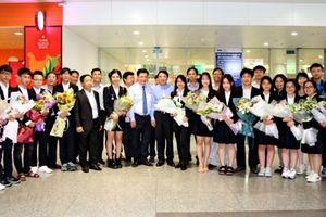 Việt Nam tiếp tục có giải tại Hội thi khoa học kỹ thuật quốc tế 2018