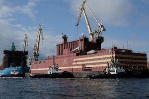 Nhà máy điện hạt nhân nổi đầu tiên của Nga được đưa đến Bắc Cực