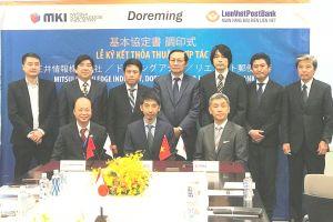 LienVietPostBank ký kết thỏa thuận hợp tác với các đối tác Nhật Bản