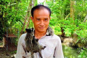 Hậu Giang: Làm giàu từ mô hình nuôi thú rừng