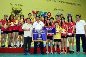 Giang Tô vô địch Giải Bóng chuyền nữ Quốc tế VTV9 - Bình Điền 2018
