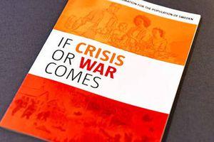 Thụy Điển: Tặng người dân sách hướng dẫn ứng phó với khủng hoảng hoặc chiến tranh