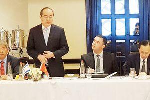 Bí thư Thành ủy TPHCM Nguyễn Thiện Nhân dự hội thảo các giải pháp đô thị thông minh tại Israel