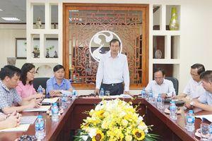 Phó Bí thư Thành ủy Đào Đức Toàn làm việc với Công ty cổ phần Đầu tư và Phát triển nhà Hà Nội số 36