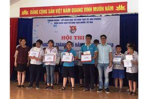 Tổ chức hội thi tin học trẻ thành phố Hải Phòng 2017-2018.