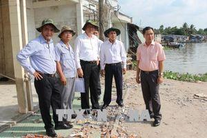 Kiểm tra tình hình sạt lở và hỗ trợ thiệt hại thiên tai tại thành phố Cần Thơ
